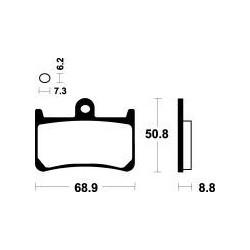 MCB611SV Brzdové destičky TRW-LUCAS