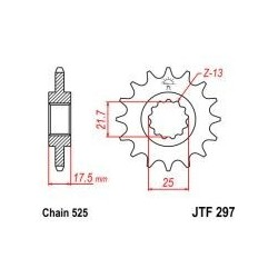 101-571-15 Přední kolečko JT MOTO
