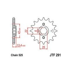 101-533-16 Přední kolečko JT MOTO