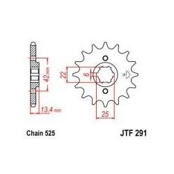 101-533-17 Přední kolečko JT MOTO