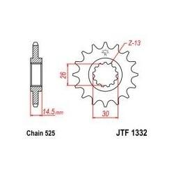 101-566-15 Přední kolečko JT MOTO