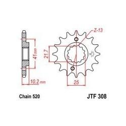 101-461-14 Přední kolečko JT MOTO