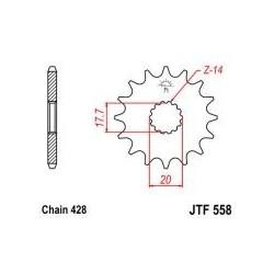 102-311-16 Přední kolečko JT MOTO