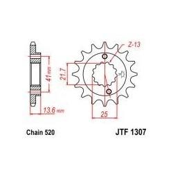 105-469-14 Přední kolečko JT MOTO