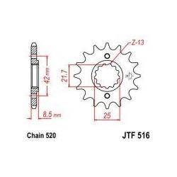 104-464-15 Přední kolečko JT MOTO
