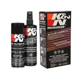 Čistící sada K&N,čistidlo+olej