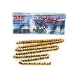 DID řetěz 520ZVMX-112 zlatý