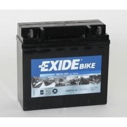 AGM 12-18 EXIDE (nahrazuje YTX20HL-BS,  YB18L-A)