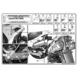 Nosič bočních kufrů KAPPA  KL528 Suzuki DL 1000