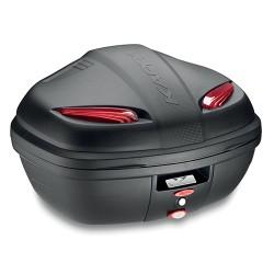 Kappa K47N - černý nelakovaný kufr topcase (47 l)