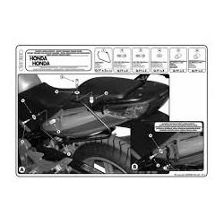 Nosič podpěry bočních brašen Kappa TK218 Honda CBF 500/600/1000
