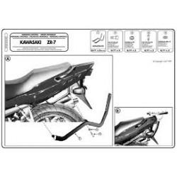 Nosič zadního kufru Kappa K4360 Kawasaki ZR-7 99-04