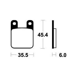 MCB535 Brzdové destičky TRW-LUCAS