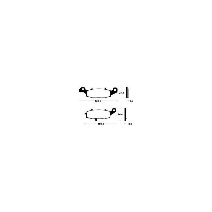 MCB681SV Brzdové destičky TRW-LUCAS