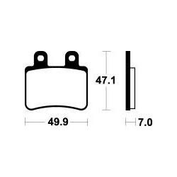 MCB735 Brzdové destičky TRW-LUCAS