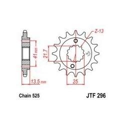 101-563-16 Přední kolečko JT MOTO