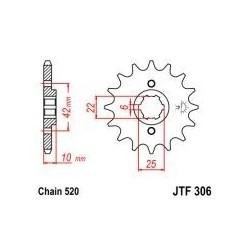 101-432-15 Přední kolečko JT MOTO