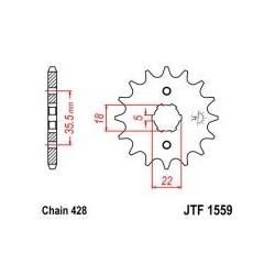 102-331-14 Přední kolečko JT MOTO