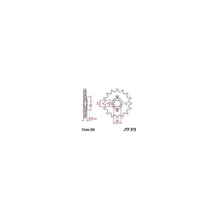 102-424-15 Přední kolečko JT MOTO