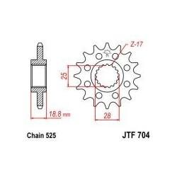 105-513-16 Přední kolečko JT MOTO