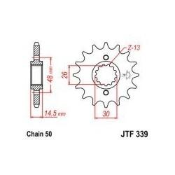 105-669-17 Přední kolečko JT MOTO