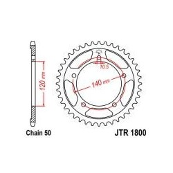 113-652-43 Rozeta JT MOTO