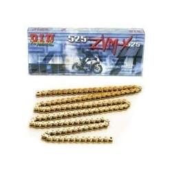 DID řetěz 525ZVMX-112 zlatý