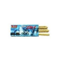 DID řetěz 520ZVMX-102 zlatý
