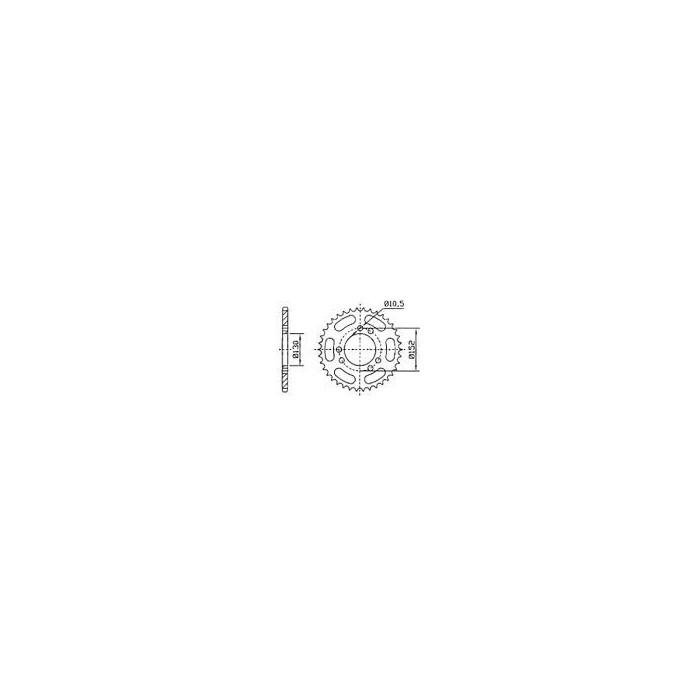 115-471-45 Rozeta JT MOTO