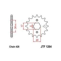 Přední kolečko JTF1264,17