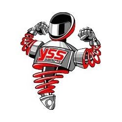 Progresivní pružina YSS zadní Kawasaki KLV 1000