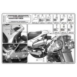 Nosič bočních kufrů KAPPA  KL528 Suzuki DL 1000/Kawasaki KLV 1000