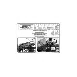 Montovací sada KAPPA 351kit pro boční nosiče bez topcase Yamaha FZ6 04-06