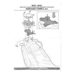Kappa plotna na Suzuki DL 650 Strom 12-13 KR 3101 Monokey