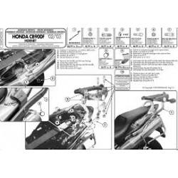 Nosič zadního kufru Kappa KZ256 Honda CB900 Hornet 02-07