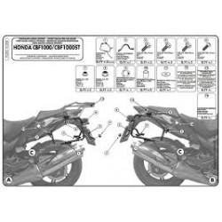 Nosič bočních kufrů Kappa KL208 Honda CBF 1000 10-14