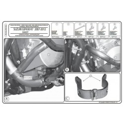 Padací rámy Kappa Suzuki GSF 650 Bandit (07-15)