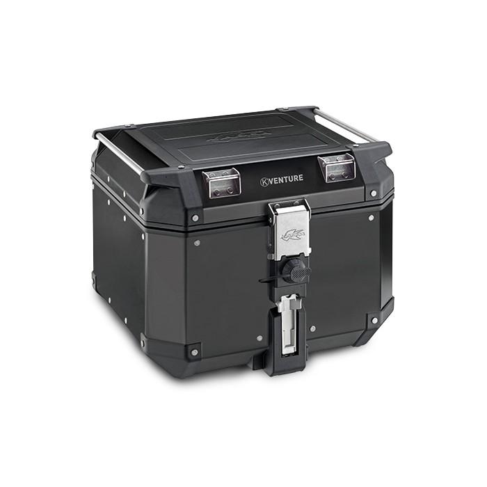 Kappa KVE42B - topcase černý hliníkový kufr K-Venture Monokey 42 litrů