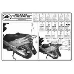 Nosič zadního kufru Kappa KR45 Yamaha T MAX 500 (01-07)