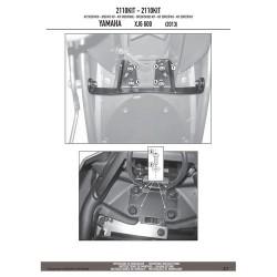 Kappa 2110KIT pro samostatnou montáž TE2110K Yamaha XJ6/Diversion (09-13) XJ600 (13-15)