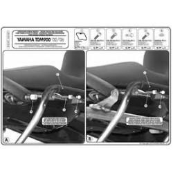 Nosič bočních kufrů K33N Kappa KLX347 Yamaha TDM 900 (02-14)