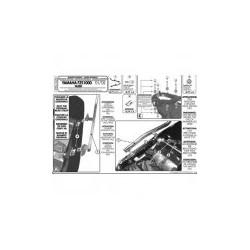 Nosič zadního kufru Kappa KZ348 Yamaha FZS1000 Fazer (02-05)