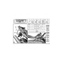 Nosič bočních kufrů Kappa KL349 Yamaha FZS1000 Fazer (03-05)