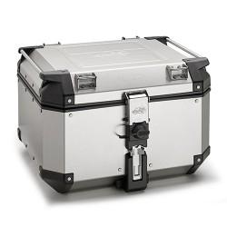 Kappa KVE48A - topcase stříbrný hliníkový kufr Monokey 48 litrů