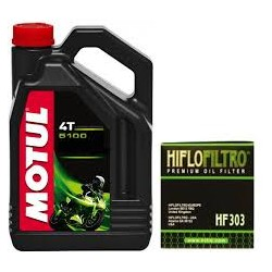 MOTUL 5100 10W40 4L + HF303